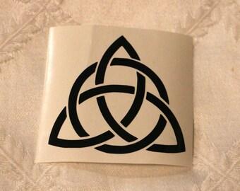 Celtic Trinity Knot/Triquetra Vinyl Decal