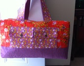Price includes shipping Girls Duffle Bag - Overnight Bag  - Heather Ross Briar Rose