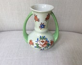 Small Floral Japanese Vase