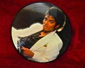 CRAZY CUPID SALE Michael Jackson - Thriller - 1983 Vintage Vinyl Record Picture Disc
