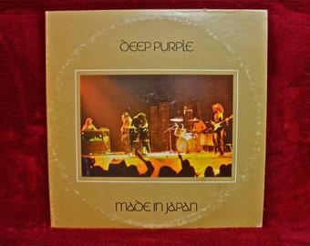 DEEP PURPLE - Made in Japan - 1972 Vintage Vinyl 2 lp Gatefold Record Album