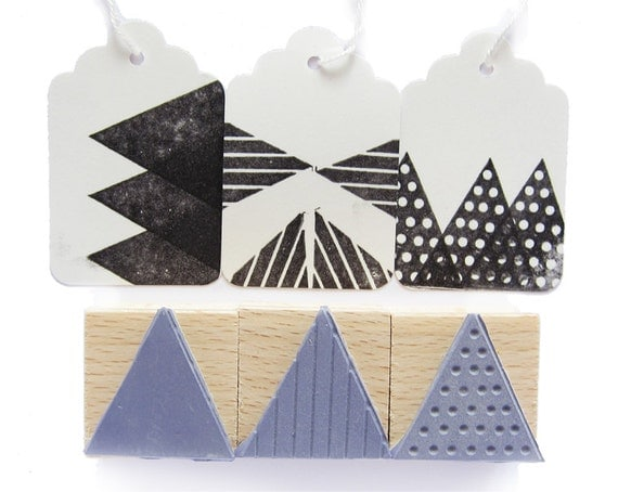 big triangle stamps