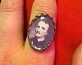 Edgar Allen Poe Ring
