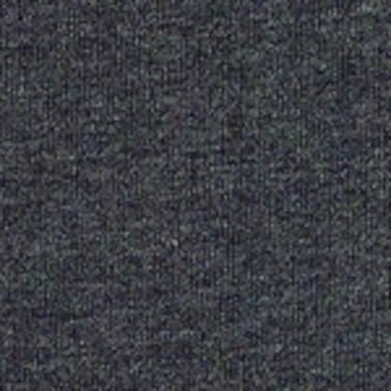 Heather Charcoal Cotton Lycra (one yard)