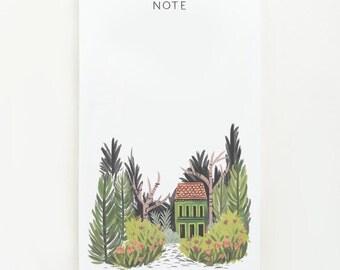 Hidden Villa Notepad