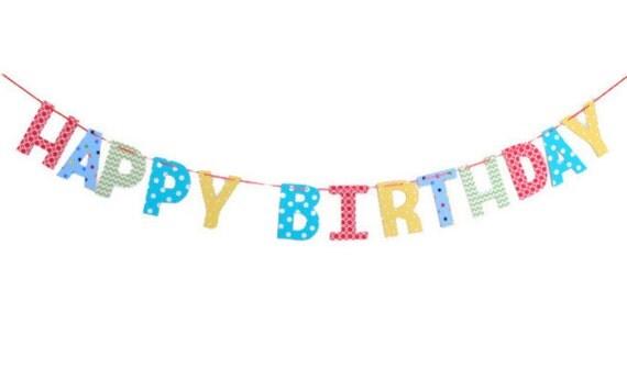 Articles similaires joyeux anniversaire tissu banni re - Dessin banderole ...