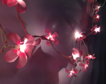 White flower string lights for party and decoration 20 by ginew
