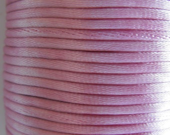 Mauve Rattail Cording Ribbon