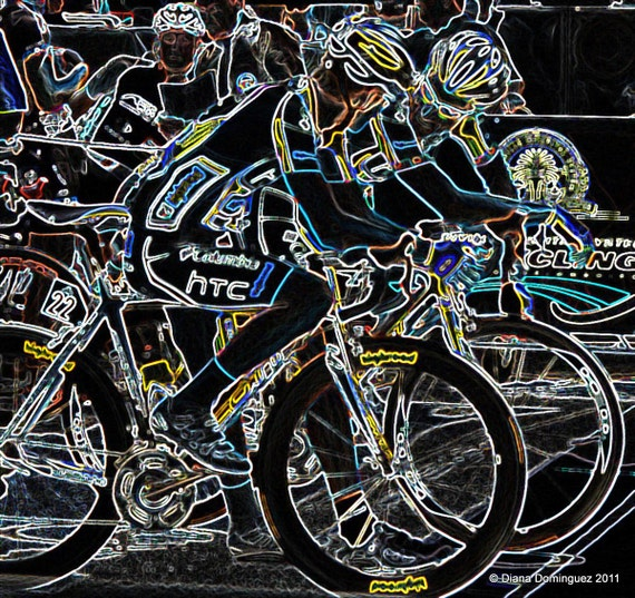 Cycling Photography, Gifts for Cyclists, Cycling Fans, Man Cave Art,  Gifts for Men, U.S Cycling Team,