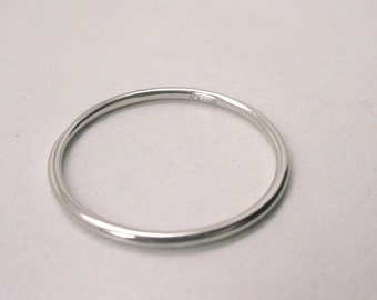 Platinum Wedding Band 1.3 mm