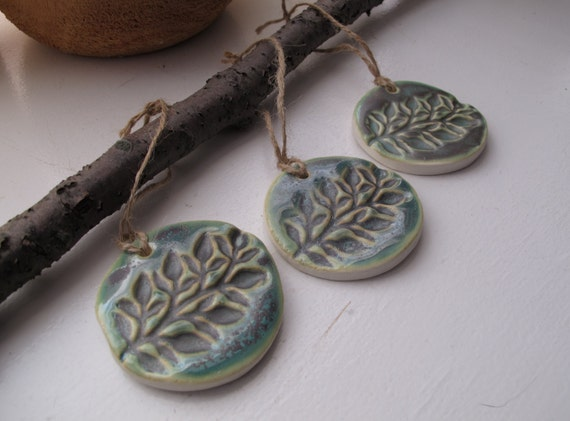 Handmade Ceramic Ornaments // Pottery For Your Holiday Decor