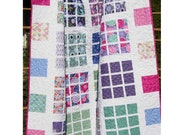 Quilt Patterns - Apartment Nine  - EASY Layer Cake and Fat Quarter Friendly Quilt Pattern - 5 Sizes