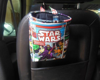 Car trash bag/accessory holder. Star Wars