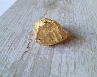 SALE: Gold Nugget Ring