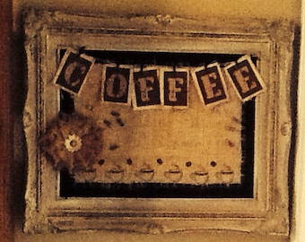 Coffee bulletin board