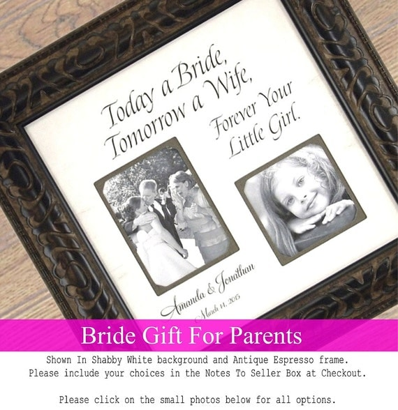 Personalised Wedding Gifts For Parents : Personalized Wedding Gifts For Parents, MOM & DAD, Sign, Frame, Father ...