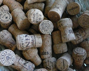 Champagne Corks/ Wedding Decor/ Lot of 50 Corks/ Champagne/ Wedding Decor/ Crafts