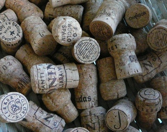 Wedding Decor/ Lot of 50 Corks/ Champagne/ Wedding Decor/ Crafts