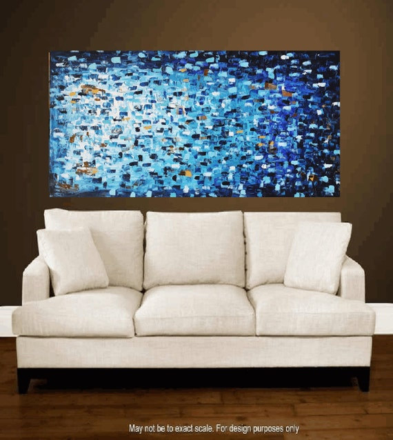"Art Painting Acrylic painting 54"" Abstract  Painting  , from jolina anthony signet  express shipping"