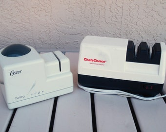 OSTER  Model 4300-08A Or Chef's Choice 300 Electric Knife And Scissors Sharpener.