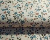 Vintage Fantasy Flowers Fabric by Spiegel