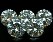 9mm Round CZ AA White Cubic Zirconia Loose Stones Lot