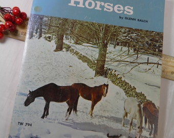 1952 The Book of Horses - Chapter Book