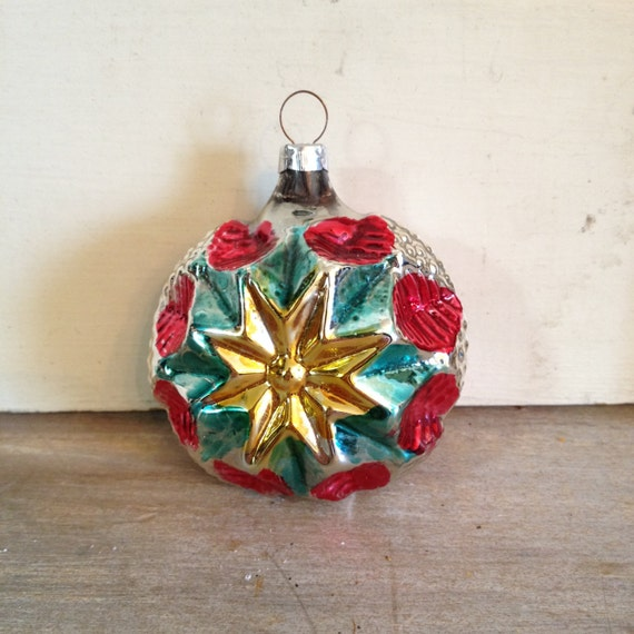 Christmas Ornaments Vintage Glass Made In Germany