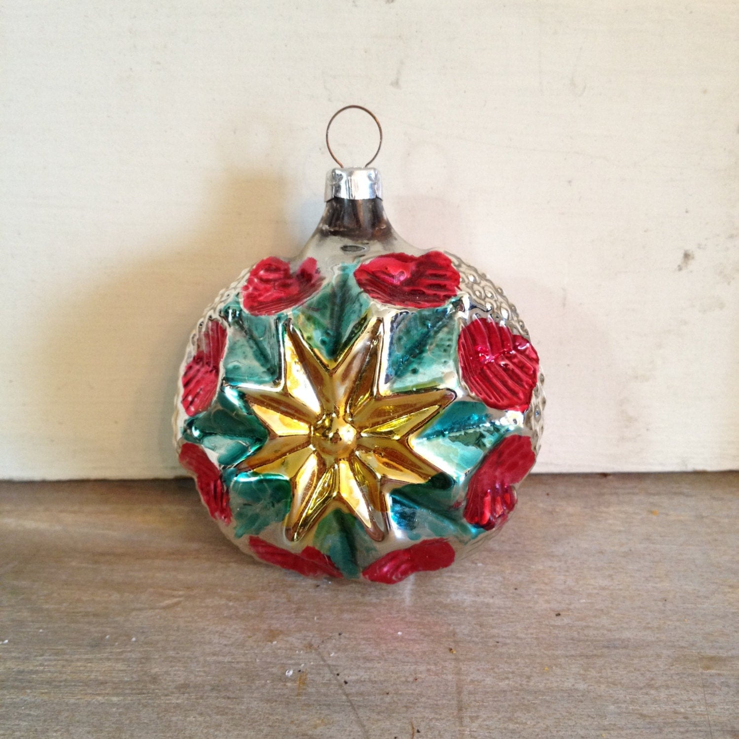 Decorations In Germany During Christmas : Christmas ornaments vintage glass made in germany