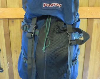 Vintage Jansport Backpack With Southwest Trim Made In Usa
