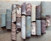 Old Mining Mineral Core Sample Set