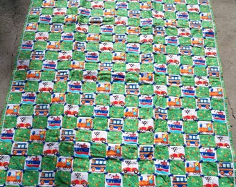 "Boys ""Big Kid"" Transportation Quilt"
