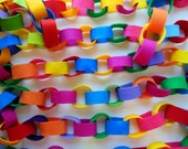 Brightly Colored Felt Garland * Felt Garland in Rainbow and Crayola Crayon Colors  * Festive  Felt Chain