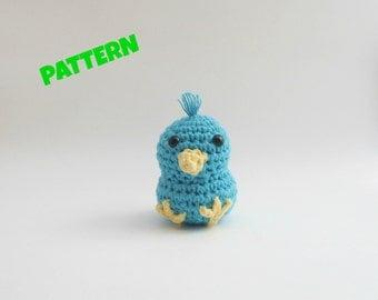 Amigurumi Bird Pattern / Crochet Bird Pattern / Kids Toys / Kid Patterns / Crochet Halloween Pattern / Baby Pattern / Crochet Animal Pattern
