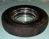 Vintage Seiberling Safety Tire Ashtray