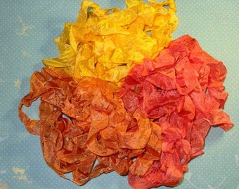 Marigold Garden Hand Dyed Ribbon