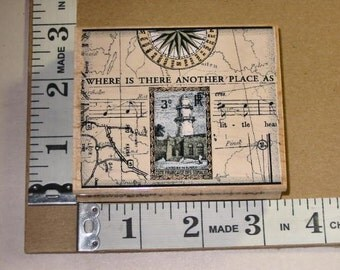 Rubber Stamp - Hero Arts - K2400 Another Place