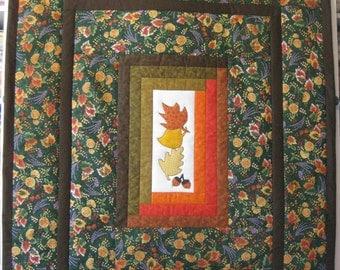 "Quilt - ""Falling Autumn Leaves"""
