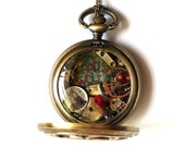 BAD WOLF Pocket Watch Necklace
