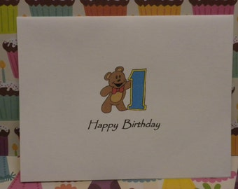 Birthday Cards for Boys Ages One Through Five