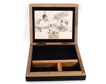 Rocky Patel Decade Cigar Box Valet Wedding Father's Day Groomsmen and Best Man