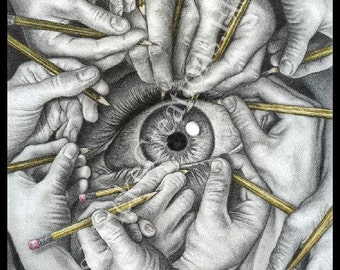 Drawn to See - Poster Print
