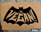 Vegan Batman PATCH