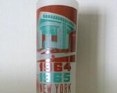 1965 worlds fair new york glass
