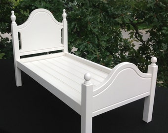"""Classic Elena Finial bed for the 18"""" American Girl doll"""