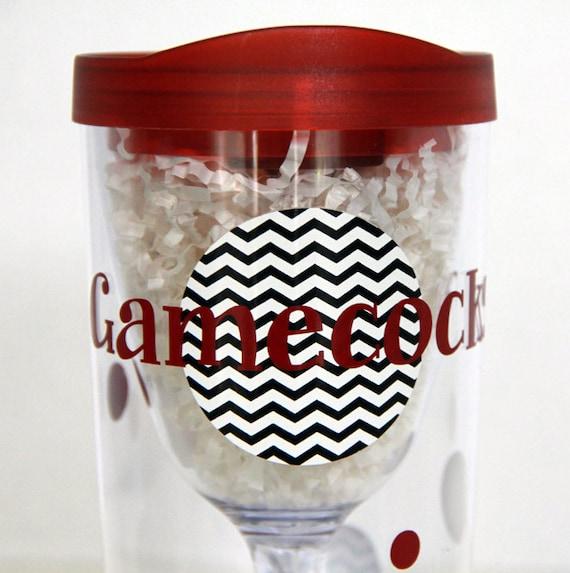 Gamecocks Wine Travel Cup Lid Vino2go Beverage Tumbler