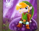Legend of Zelda - Link Relaxation