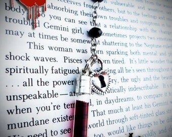 LOVE IN VEIN™ - Original blood vial kit. 2013 Range: Style - Rosary. Now includes Anticoagulant