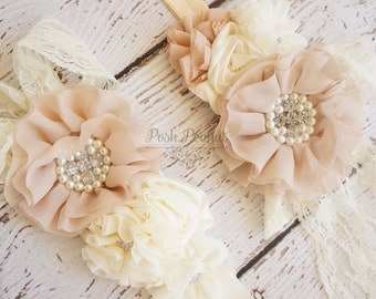 Rustic Bridal Sash- Bridal belt- Rhinestone bridal sash- Vintage inspired bridal sash- champagne wedding sash- Flower girl sash- belt- sash