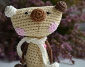 Crochet teddy bear - crochet pattern, DIY